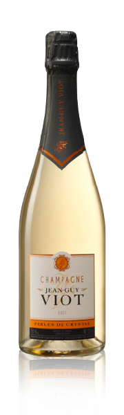 Bouteille Perles de Crystal Champagne Jean-Guy Viot