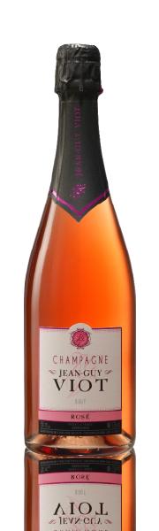 Bouteille Rosé Champagne Jean-Guy Viot