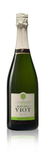 Bouteille Tradition Demi-Sec Champagne Jean-Guy Viot
